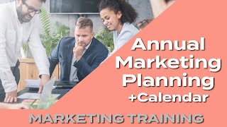 annual marketing planning