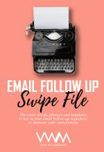 email follow up swipe file
